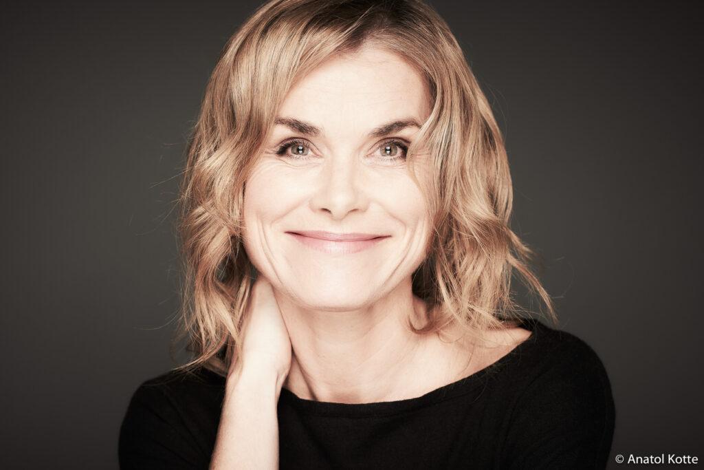 Porträt von Schauspielerin Andrea Lüdke aus Hamburg von Fotografin Anatol Kotte