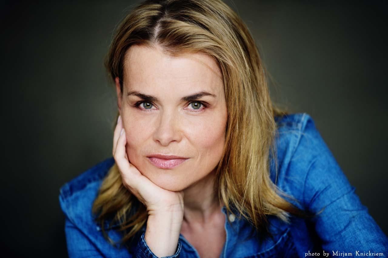 Portrait von Theater TV und Film Schauspielerin/Actress Andrea Lüdke aus Hamburg